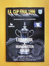 FA Cup Final - Liverpool v Manchester United - 11th May 1996