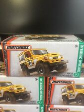 2017 Matchbox Power Grabs TOYOTA LAND CRUISER FJ40 (yellow) brand new release