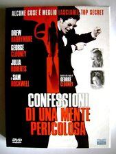 Dvd Confessioni di una Mente Pericolosa ed. Custom case doppio disco Usato