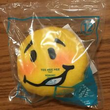 "2016 McDonald's Happy Meal #12 Emoji ""Tee Hee Hee"