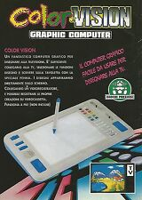 X0293 Color Vision - Giochi Preziosi - Pubblicità 1992 - Vintage Advertising