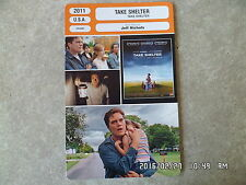 CARTE FICHE CINEMA 2011 TAKE SHELTER Michael Shannon Jessica Chastain