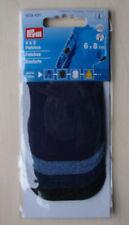 renforts à coudre thermocollants jeans 4 paires différents (8 pièces de 6X8cm)
