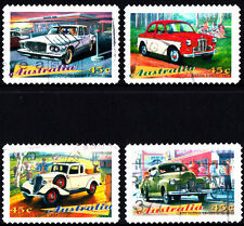 Australia 1997 Clasic Cars Complete Set of Stamps P Used S/A