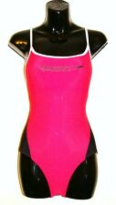 Ladies Swimming Costume Speedo Elate Suit Wear Pink Sport One Piece 30""