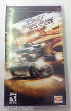 Fast and the Furious (PlayStation Portable, 2007) Complete! See Pics! RARE!