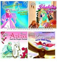 PRINCESS SERIES PACK 1 - PERFECT EID GIFT - STORIES BASED ON ASMA UL HUSNA