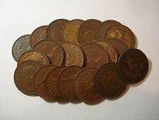 Australian Half Penny 1/2 Pennies Bulk Mini Set Coins 20 Different Dates inc KGV