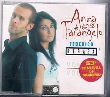 ANNA TATANGELO FEDERICO STRAGA VOLERE VOLARE  CD SINGOLO SINGLE cds SIGILLATO!!!