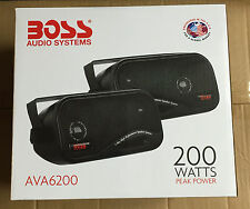 BOSS 400W TOTAL BOX TYPE SHELF REAR DECK CAR/VAN/CARAVAN/BOAT/POD SPEAKERS NEW