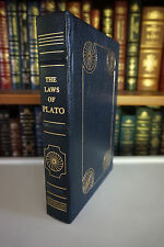 THE LAWS OF PLATO Gryphon Legal Classics Leather Bound