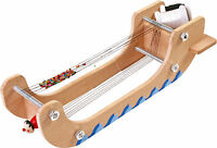 Large 35cm Wooden Beading Jewellery Weaving Loom Includes Thread & Beads - 4548