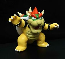 """Super Mario Brothers Bros King Bowser figure 3.5"""" loose"""