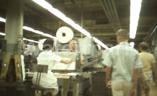 1964 L & M Lark Cigarette Factory Workers Richmond VA Original Afga 35mm Slide 1