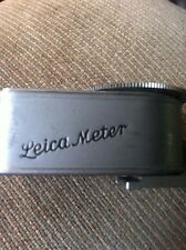 Vintage Metrophot Light Meter Leica Vintage Made In Germany # 25114 With Case
