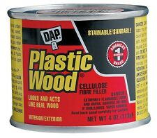 Dap 4-oz. Natural Plastic Wood Solvent Wood Filler #21502