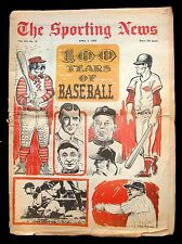 1969 SPORTING NEWS OPENING DAY ISSUE W/ BASEBALL CENTENNIAL SPECIAL SECTION
