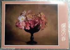 Carte postale Fleurs de printemps Ikebana Yannick Bouvier   postcard