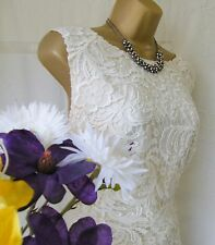 "***MONSOON PRE-OWNED ""LUCIENNE IVORY"" DRESS SIZE 20"