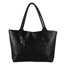 Fashion Women's  PU Leather Messenger Hobo Bag Handbag Shoulder Bags Tote Purse