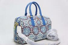 TORY BURCH ROBINSON PRINTED MIDDY SATCHEL  SHOULDER BAG $395