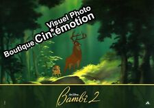 6 Photos Exploitation Cinéma 20X28.5cm (2004) BAMBI 2 & THE PRINCE OF THE FOREST