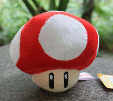 Super Mario Bros Red Mushroom Plush-6""