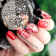 Arabesque Butterfly Nail Art Stamp Template Image Plate BORN PRETTY BP79