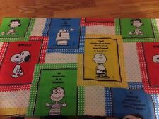 Vintage Peanuts Pillow Case Snoopy Charlie Brown & Gang Schultz