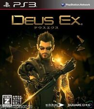 Used PS3 Deus Ex: Human Revolution SONY PLAYSTATION 3 JAPAN JAPANESE IMPORT