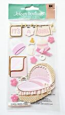 Jolees It's A Girl New Baby Baby Girl Stickers Scrapbooking Embellishments