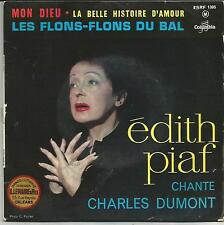 EDITH PIAF Chante CHARLES DUMONT EP COLUMBIA 1962