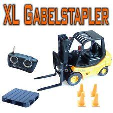 Großer XL RC Gabelstapler Stapler + Fernsteuerung Auto Modell Spielzeug Spiel