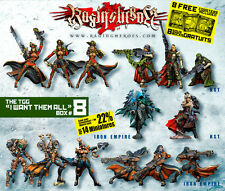 Raging Heroes TGG I Want Them All Box #8 Warhammer 40k Characters