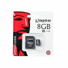 Kingston Micro SD 8GB SDHC MICROSDHC Memory Card Samsung Mobile Phone Class 4