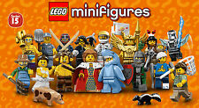 LEGO Minifigures #71011 - Series 15 - Complete Serie - NEUF / NEW - Sealed