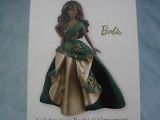 2011 Hallmark CELEBRATION BARBIE Ornament SPECIAL EDITION AFRICAN AMERICAN