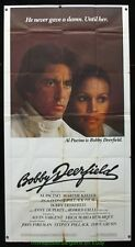 BOBBY DEERFIELD MOVIE POSTER 41x81 Three Sheet AL PACINO 1977 Formula 1 Racing