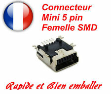 Connettore Mini USB 5 mattarello Femmina SMD. DO IT YOURSELF, Arduino