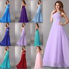 LONG Bridesmaid Party Gown Prom Ball Evening Wedding Cocktail Dresses PLUS SIZE