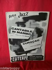 ROMANO Cantabile in Mambo + SHOPPER Curacao 1960 Spartiti JAZZ