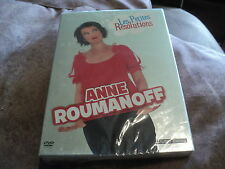 "DVD NEUF ""ANNE ROUMANOFF - LES PETITES RESOLUTIONS"""