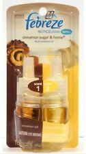 6 x Febreze Noticeables Scented Cinnamon Sugar & Home Oil Refill