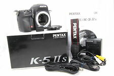 Act3597 Very Good Pentax K-5 IIs Digital SLR Camera - Black (Body only) #380 s11