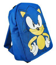 *NEW* Sonic The Hedgehog Face Kids Size Mini Backpack