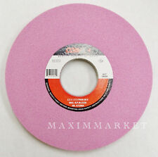 "12"" x 1"" x 3"" Premium Pink Aluminum Oxide Surface Grinding Wheel for Tool Room"