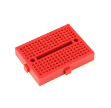 10 PCS Red Solderless Prototype Breadboard 170 SYB-170 Tie-points for Arduino