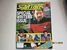 STAR TREK-  THE NEXT GENERATION  OFFICIAL  MAGAZINE SERIES BY STARLOG VOL 22