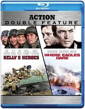 Kelly's Heroes/Where Eagles Dare (2011, REGION A Blu-ray New) BLU-RAY/WS