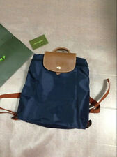 Auth Longchamp Le Pliage Backpack Navy 1699089556